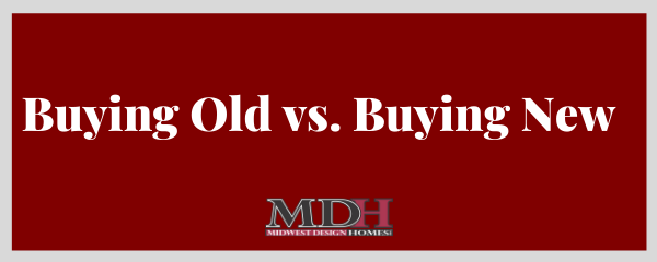 cover photo for buying old vs. buying new blog post